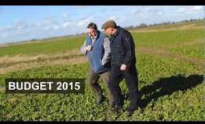 Flood defence vital for farming | Budget 2015 [Video]