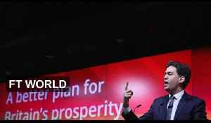 Miliband Tries to Woo Business | FT World [Video]