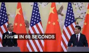 US sanctions against China, jacket sets new Kickstarter record | FirstFT [Video]