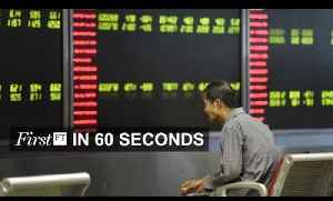 Global markets gripped by intense volatility , betting merger | FirstFT [Video]