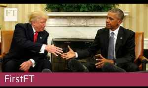Trump meets Obama, Singles Day in China | FirstFT [Video]