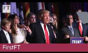 Donald Trump wins US election victory | FirstFT [Video]