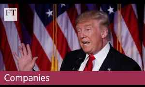 The Trump effect on trade | Companies [Video]