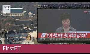 South Korean president, Zuma vote | FirstFT [Video]
