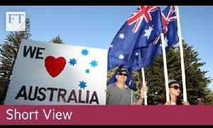 Aussie dollar falls on rates move | Short View [Video]