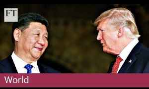 US-China tensions rising | World [Video]
