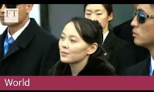 North Korean leader's sister arrives in South for Olympics [Video]