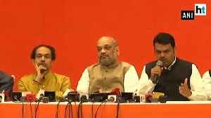 BJP-Shiv Sena finalise 25:23 seat sharing pact for 2019 Lok Sabha election [Video]