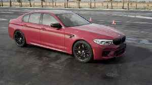 BMW M5 Competition Design in String Red [Video]