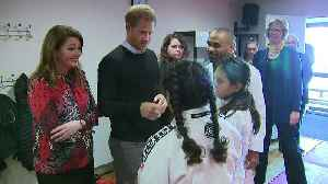 Prince Harry visits school half-term activity programme [Video]