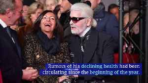 Fashion Icon Karl Lagerfeld Dead at 85 [Video]