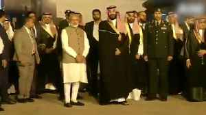 PM Modi welcomes Saudi Crown Prince with a warm hug [Video]
