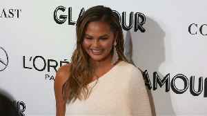 Chrissy Teigen chipped tooth while filming 'Family Feud' [Video]