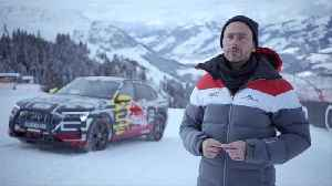"Audi e-tron extreme - Technology demonstrator on legendary ""Streif"" Interviews [Video]"