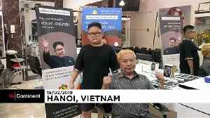 Vietnamese barber offers free Trump and Kim haircuts to mark second summit [Video]