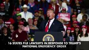 16 States File Lawsuits in Response to Trump's National Emergency Order [Video]