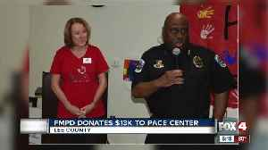 FMPD donates to Pace [Video]