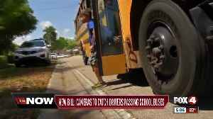New Florida bill targets drivers who illegally pass school buses at stops [Video]