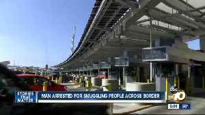 San Diego man arrested for human smuggling [Video]