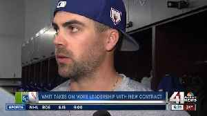 Whit Merrifield embraces new role as leader [Video]