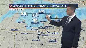 2 WORKS FOR YOU WEATHER TUESDAY FORECAST [Video]