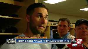 Tampa Bay Rays outfielder Kevin Kiermaier determined to bounce back from disappointing 2018 season [Video]
