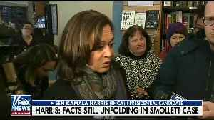 Kamala Harris struggles to respond to question about Smollett case [Video]