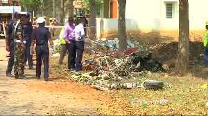 Indian air force planes collide in air show rehearsal, one pilot dead [Video]