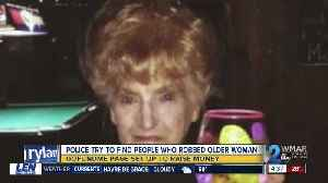 Gofundme page raises money to help catch suspects who beat and robbed 95-year-old [Video]