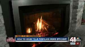 How to use your gas fireplace most efficiently during the winter [Video]