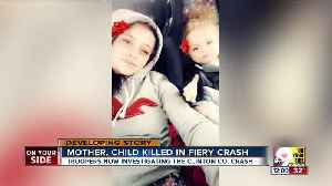 Mother and 14-month-old killed in crash [Video]