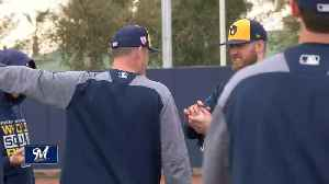 Brewers Spring Training kicks off Tuesday and the position players are more than excited [Video]
