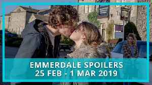 Emmerdale spoilers: 25 February - 1 March 2019 [Video]