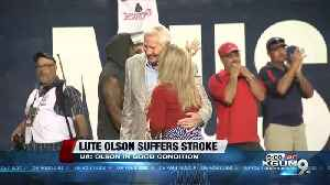 Former UA coach Lute Olson recovering from stroke [Video]
