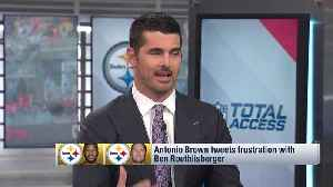 Would you want Pittsburgh Steelers wide receiver Antonio Brown on your team? NFL Network's Reggie Wayne: I don't know if he's 'w [Video]