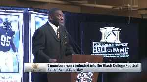 Black College Football Hall of Fame inducts seven new members [Video]