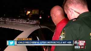 Motorcyclist arrested after hitting 2-year-old in Port Richey [Video]