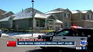 News video: Man shot and killed in dispute with neighbor is assistant principal, former CU football player