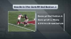 Trade fits: New York Giants wide receiver Odell Beckham Jr.'s potential path to the Baltimore Ravens [Video]