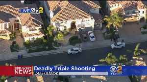 Triple Shooting Under Investigation In Porter Ranch [Video]