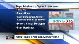 Need a job? Tops is hiring on the spot [Video]