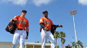 Jon Meoli and Peter Schmuck on the Baltimore Orioles first day of full squad workouts [Video]