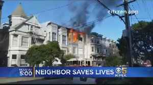 Tenants Describe Frantic Escape From 2-Alarm Fire Near SF Panhandle [Video]