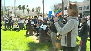 President Trump's emergency declaration protested in Watsonville [Video]