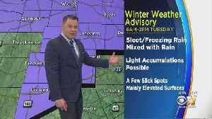 Winter Weather Advisory Starting Tuesday Morning West Of DFW [Video]