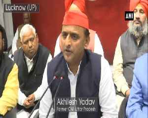 BJP should put political events on hold in wake of Pulwama attck Akhilesh Yadav [Video]
