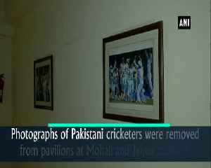 Photographs of Pakistani cricketers removed from Jaiput Mohali stadiums over Pulwama attack [Video]