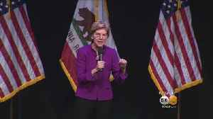 Elizabeth Warren Makes Campaign Stop In Southland [Video]