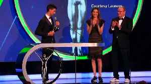 Emotional scenes as Vonn, Djokovic and Biles win Laureus Awards [Video]