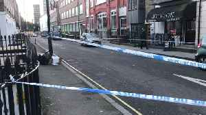 Police At The Scene Of A Fatal Stabbing On Euston Street, London [Video]
